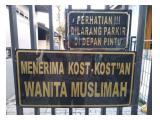 Kos muslimah strategis Cililitan murah